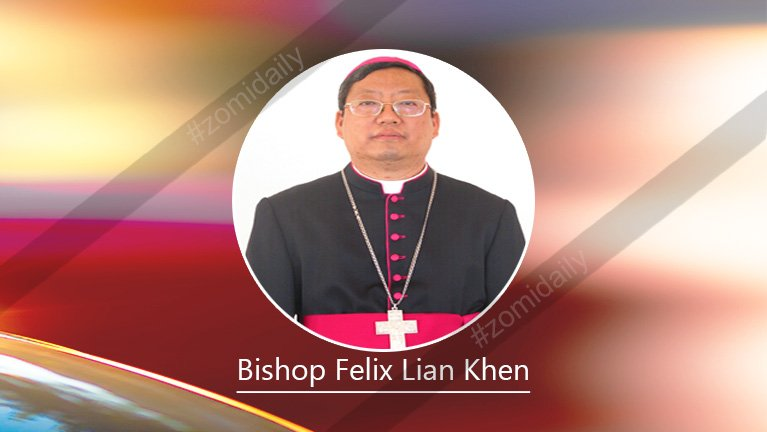 Christmas Message from Bishop Lian Khen ~ 2014
