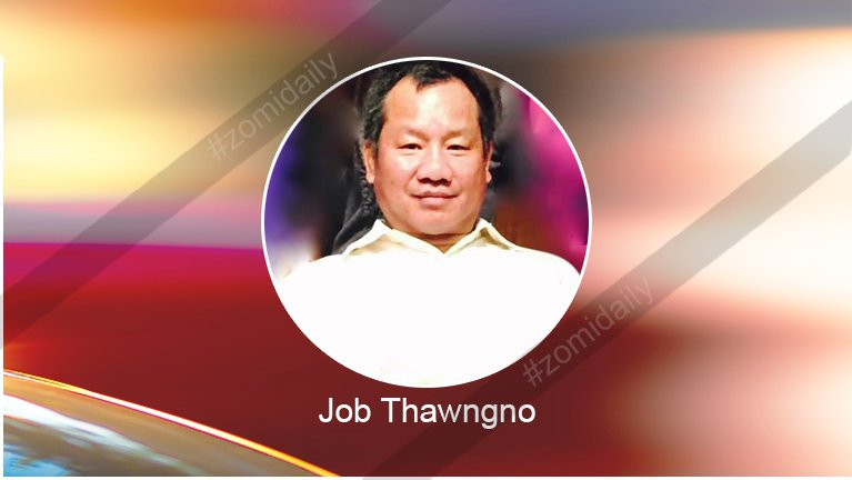Rev. Job Thawngno Lungsim Limlangh pan teeltuam pawlkhat