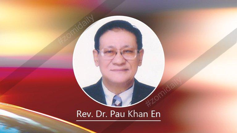 Zomi bup tungah thu zaksakna ~ Dr. Pau Khan En