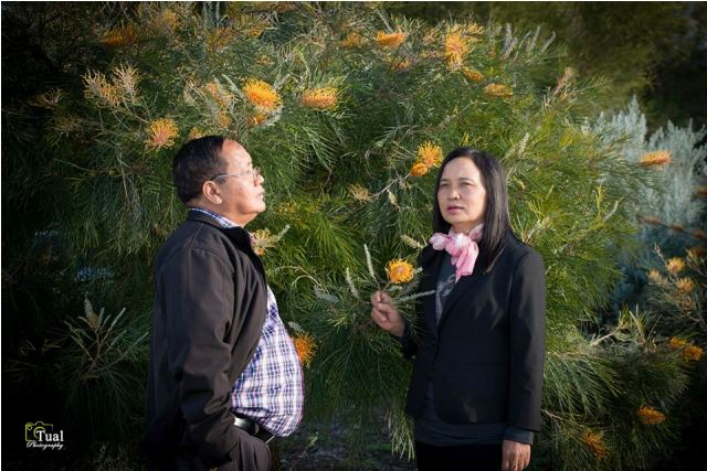 Sia Mung Tawng & Siamah Niang cidam in Kawlgam tung kikta