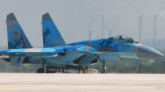 Ukraine te vanleng Fighter Jet 2 kikapkhia