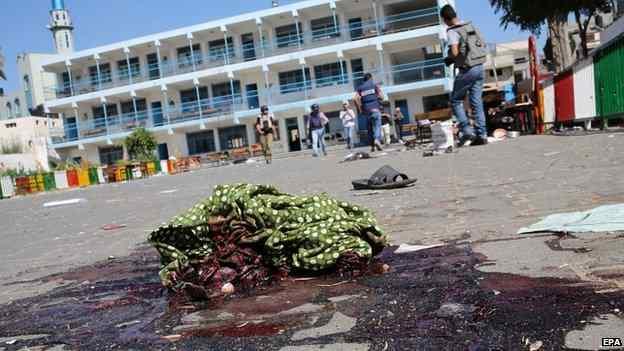 Gaza aom UN sanginn khat kikap, mi 13 si