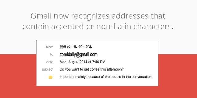 Gmail ah Non-Latin Character tawh min ki gelhtheita