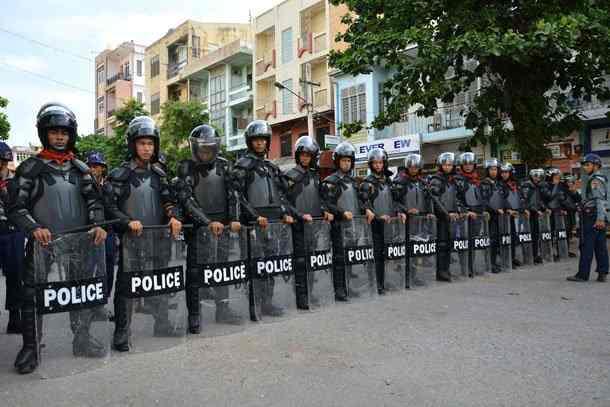Mandalay ah Curfew ki khawlbawlphot