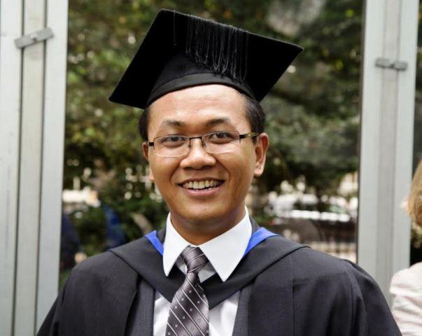 Tg Zam Lian Khup in Master of Engineering ngah