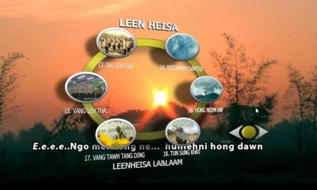 LEEN HEISA DVD ' ZOMI LIVE VOL-1 kingah ta