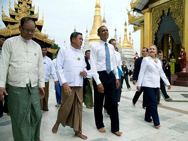 President Barack Obama leh tuhun Kawlgam (Myanmar)