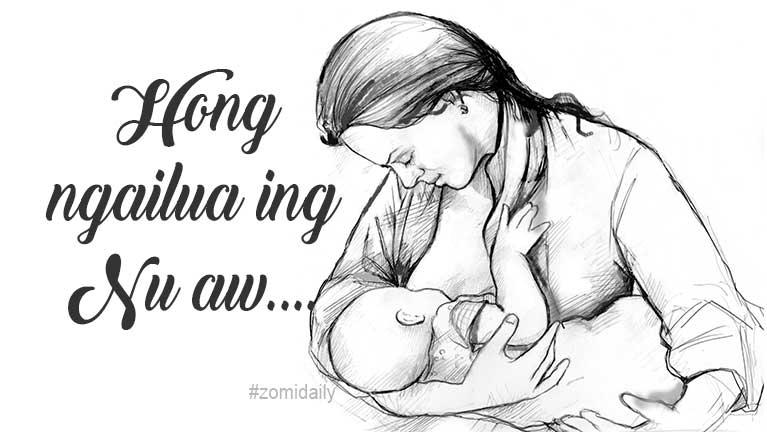 """Nu aw, kong it hi"" ~ Hau Za Cin"