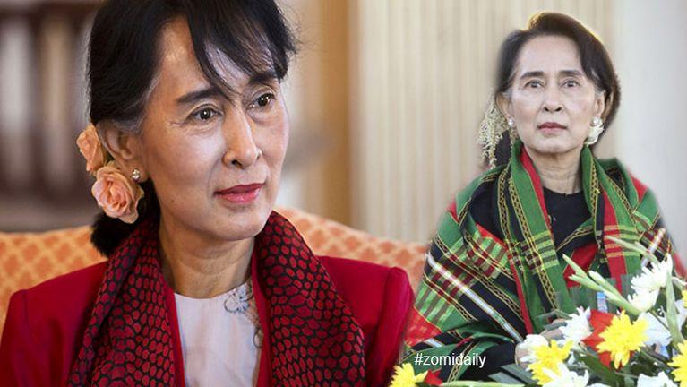 Aung San Suu Kyi Singapore ah kumpi vaitawh zinding ~ ZD