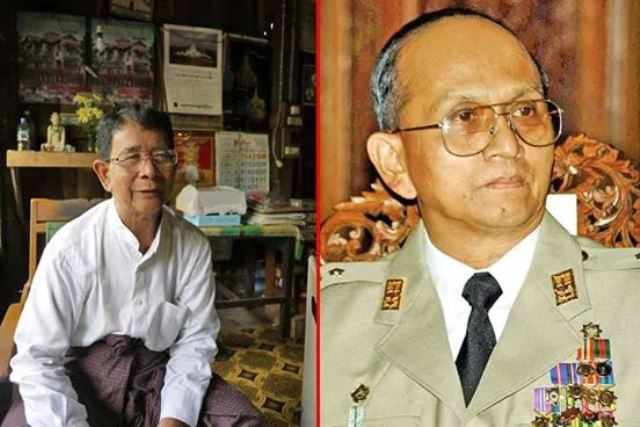 U Thun Myint gen a naupa gambuplutang (General) U Thein Sein thu tomcing