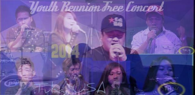 Tulsa Khuapi a ki bawl Youth Reunion Free Concert 2014 Video te