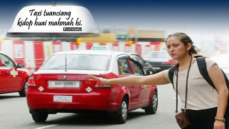 Malaysia gamsung ah Taxi saap mankhangding