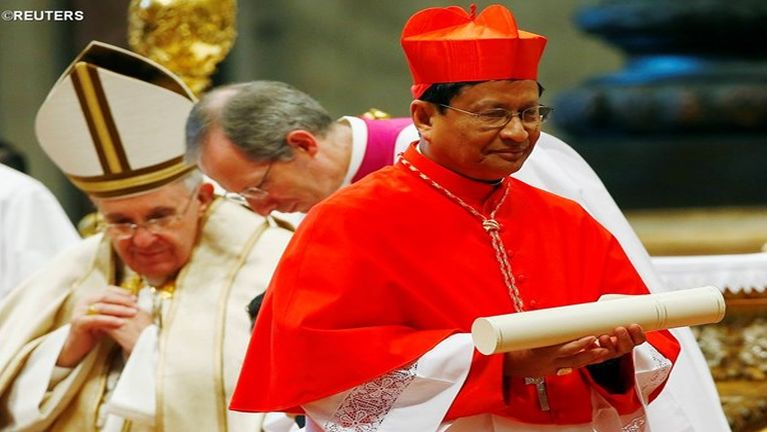 Cardinal Charles Bo leh Irrawaddy News tanute Interview