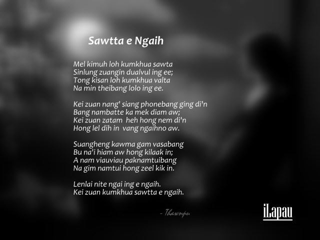 Sawtta e Ngaih ~ Thawnpu