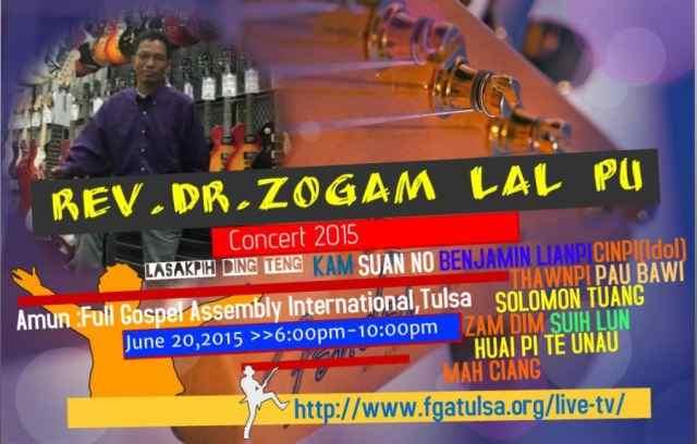 Zogam Lalpu Lasak pawi leh Interview na omding