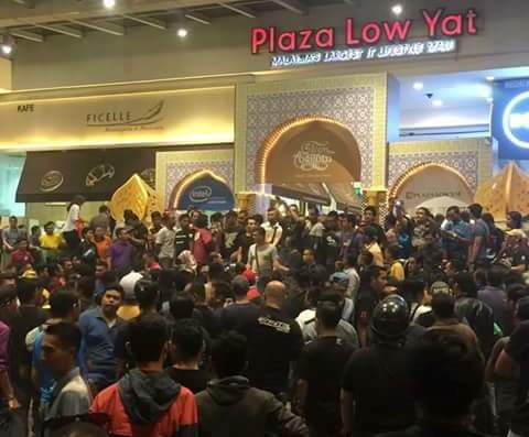 Malaysia gamsung aom Low Yat Plaza buaina