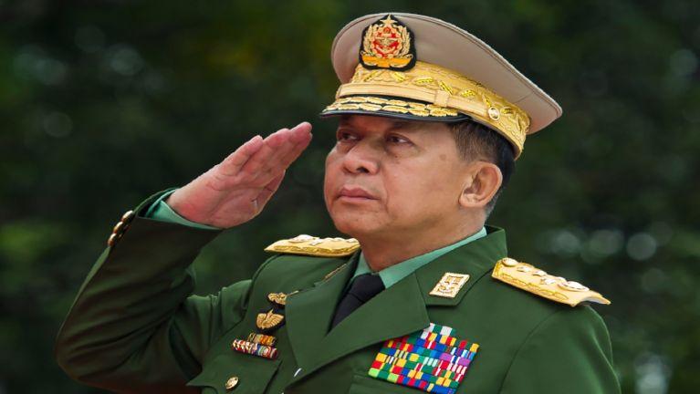 Senior General Min Aung Hlaing leh Union Minister te thu kikupte tomlakna