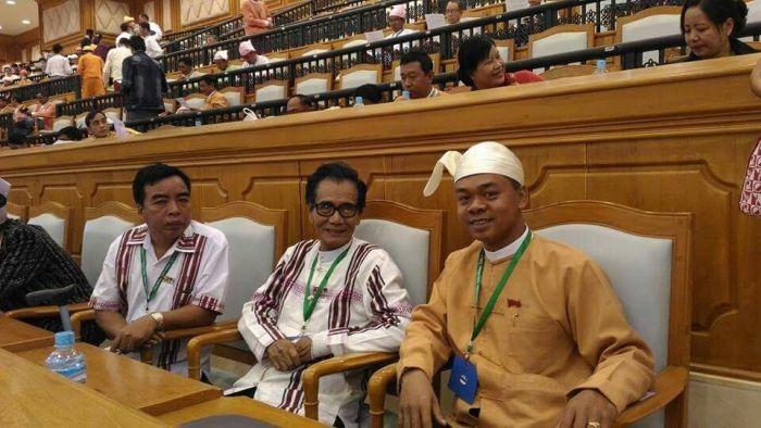 Naak Lungzuan huai Myanmar Lower House Parliament