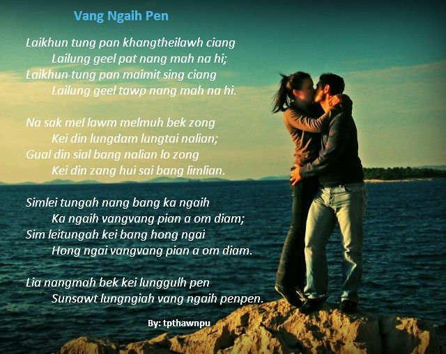 Zomi Sonnet: Vang Ngaih Pen ~ Thawnpu