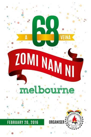 Australia gam Melbourne ah Zomi Nam Ni nopcitak in kibawl