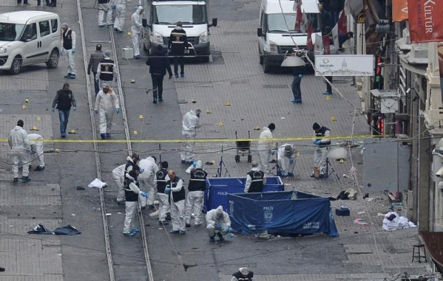 Istanbul Shopping Mall gei ah Suicide Bomb puakkham, mi 4 si