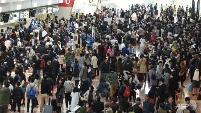 Japan Airlines te System siacip ahih manin Passengers mi 16,000 awkcip