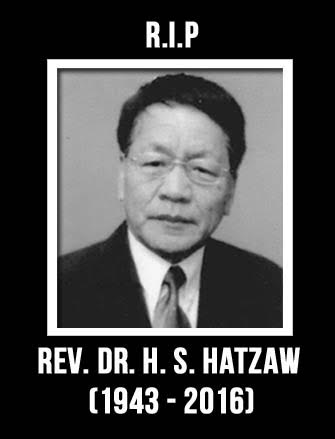 RIP Rev. Dr. H. S. Hatzaw