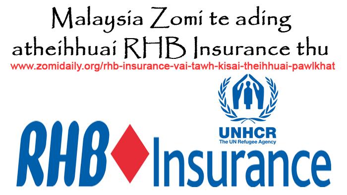 RHB Insurance vai tawh kisai theihhuai pawlkhat