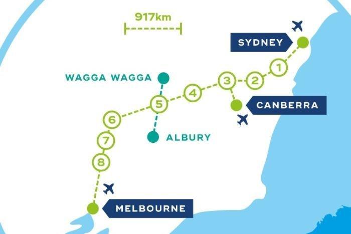Melbourne leh Sydney kikal High-speed meileng lampi kibawlding