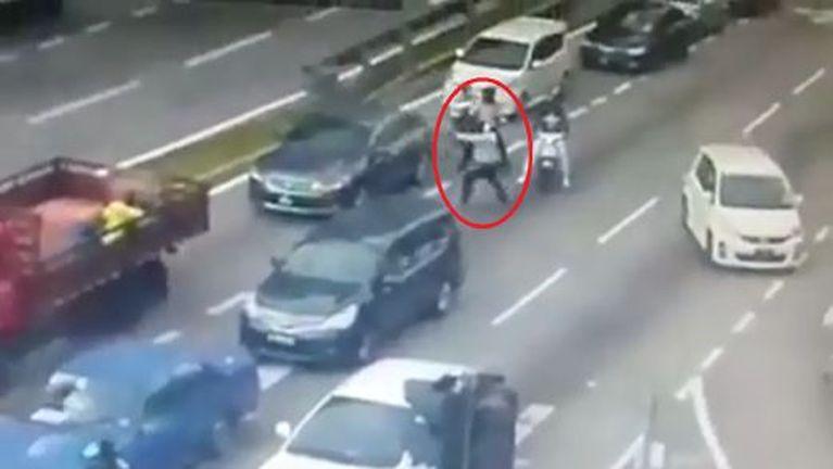 Malaysia Setapak Traffic khawlna ah mikhat kikaplum