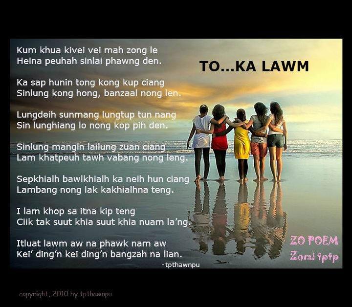 To… Ka Lawm ~ Thawnpu