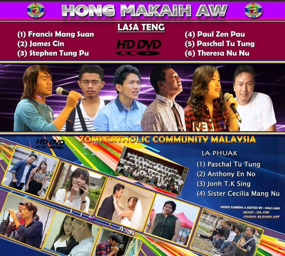 DVD Album thak ki hawmkhia ding ~ Hong Makaih Aw