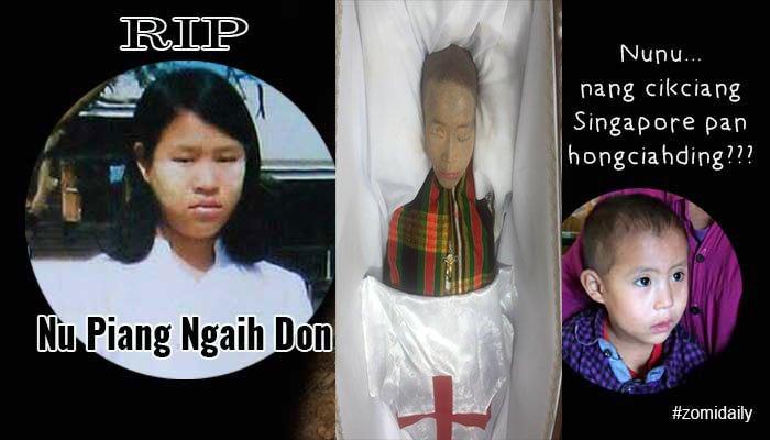 Nu Piang Ngaih Don vaitawh kisai zaksak kikna (13 August 2016)