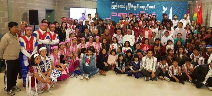 Union Peace Conference (21st Panglong) Muakna Melbourne-ah