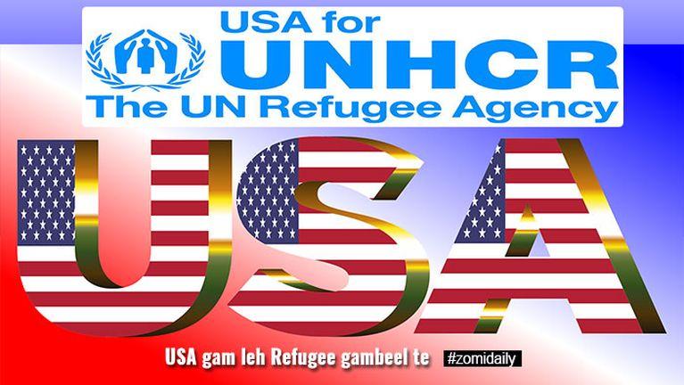 US kumpi in abeisa in akhakcip gam 11 panin Refugee te lutkhuan piakikding