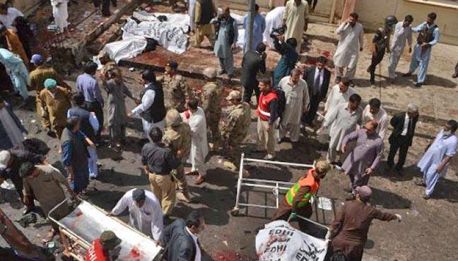 Pakistan ah biakpiak laitak Suicide Bomb puakkham, mi 16 si, 35 liam ~ ZD