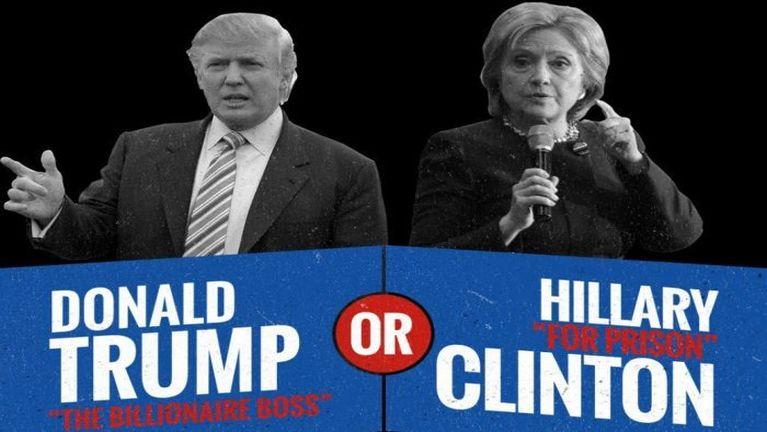 Trump vs Clinton ~ Zomi Quavadis
