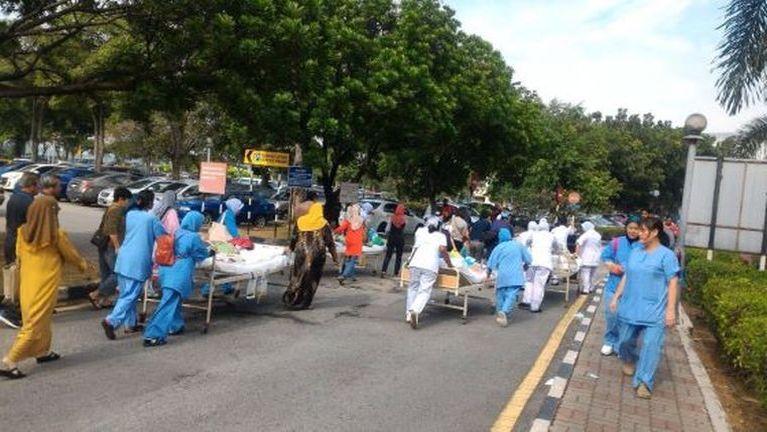 Malaysia, Jahor Baru ah Hospital meikang, mi 6 sikhin ~ ZD