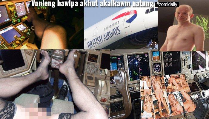 British Airways vanlenghawlpa akhut in akalkawm ah zutzut khat nanei