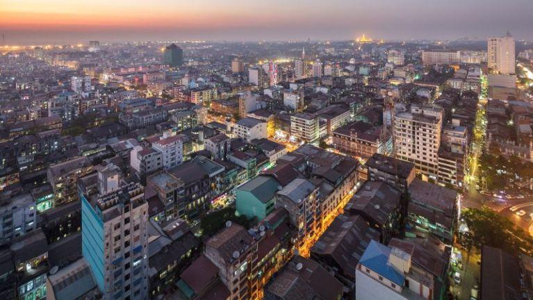 Billy Graham Crusade Yangon Zomi Choir vai zaksakna ~ David Suum