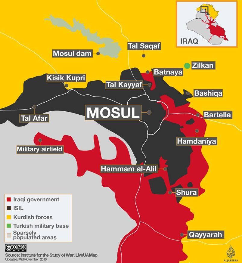 Iraq gama IS te ukna Mosul kilakik zonailo napi'n a ukding kituh ~ Thang Khan Lian
