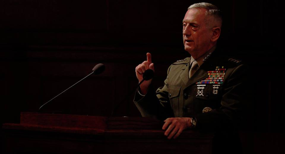 Trump in Head of Pentagon James Mattis adeihna thu pulak ~ TK Lian