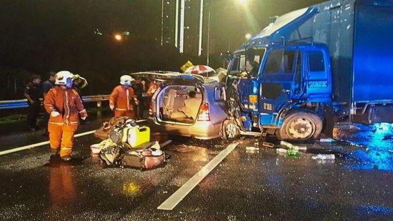Malaysia khuasung mawtaw Accident, mi 4 si, 1 liamgawp ~ ZD