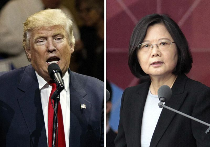 Taiwan President in Trump ahopih manin China ah thangpai ~ TK Lian