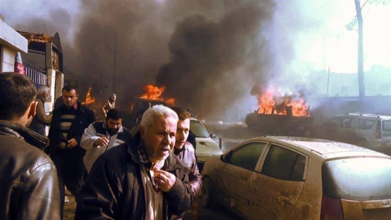Syria gam a Rebel te ukna ah datsi pua Truck puakkham, mi 49 kiim si ~ TK Lian