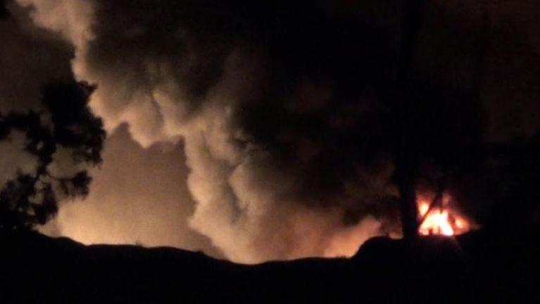 Israel in Damascus khuapi nawl aom vanleng phual Rocket tawh kapsak ~ TK Lian