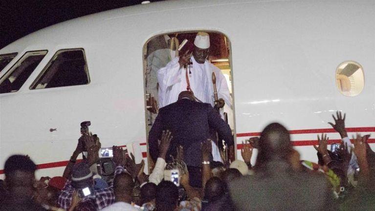Gambia gam kum 22 uk Jammeh in athuneihna a nusiatma in State Fund Million tampi gu ~ TK Lian
