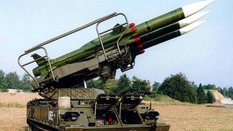 "India in Russia tebawl ""Kvadrat Self Propelled Air Defence System"" laihnading Missile leisawm ~ TK Lian"