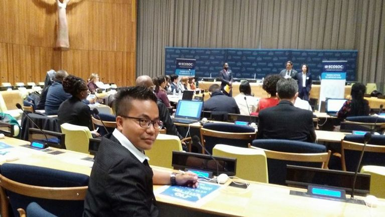 UN Youth Forum 2030 kamkupna tomkim ~ Bob Tuangpi