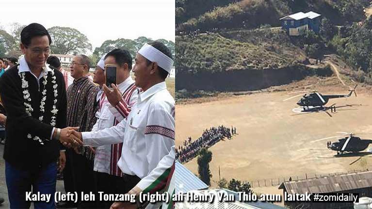 Myanmar Vice President II Pu Van Thio Zogam hongzin